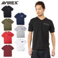AVIREX アビレックス  6143386 FATIGUE VネックTシャツ ミリタリー アヴィレックス【キャンペーン対象外】
