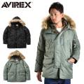 【10月中旬入荷予定】AVIREX アビレックス 6152175 N-3B フライトジャケット COMMERCIAL アヴィレックス
