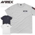 ☆まとめ割☆【ネコポス便対応】AVIREX アビレックス 6163356 T/C NAVAL PATCH クルーネックTシャツ