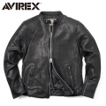 AVIREX アビレックス 6171083 SHEEP SKIN シングルライダースジャケット