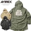 AVIREX アビレックス 6172152 SCREAMING EAGLES シェルパーカ モッズコート