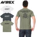 ☆超お買い得セール☆★キャンペーン対象外★AVIREX アビレックス 6173367 T/C クルーネック Tシャツ ARMY