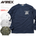 AVIREX アビレックス 6173437 U.S.A.F. 70th ANNIVERSARY THERMOLITE Tシャツ U.S. AIR FORCE