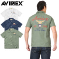 AVIREX アビレックス 6175117 S/S AIR PATROL EMBROIDERY シャツ