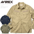 AVIREX アビレックス 6175149 U.S.A.F. 70th ANNIVERSARY B.D.U. シャツ【数量限定!対象商品を20,000円(税込)以上ご購入でランドリーバッグプレゼント】