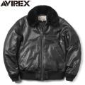 AVIREX アビレックス 6181050 シープレザー B-15 フライトジャケット ミリタリージャケット【キャンペーン対象外】