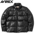 AVIREX アビレックス 6181057 シープスキン ダウンジャケット レザーダウン 革ジャン【キャンペーン対象外】