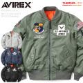 AVIREX アビレックス 6182184 MA-1 フライトジャケット SPACE COMMAND ミリタリージャケット スペースコマンド【キャンペーン対象外】