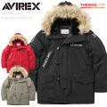 AVIREX アビレックス 6182209 N-3Bフライトジャケット X-15 メンズ アウター コート ミリタリージャケット ブルゾン ジャンバー【キャンペーン対象外】