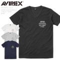 ☆まとめ割☆【ネコポス便対応】AVIREX アビレックス 6183361 ワッフル VネックTシャツ NFWS