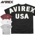 ☆まとめ割☆【ネコポス便対応】AVIREX アビレックス 6183375 ルーズフットボールTシャツ BIG LOGO