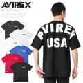 AVIREX アビレックス 6183546 ルーズフットボールTシャツ BIG LOGO【キャンペーン対象外】 半袖