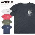 【ネコポス便対応】AVIREX アビレックス 6183436 S/S クルーネックTシャツ LAST PHANTOM アヴィレックス【キャンペーン対象外】