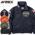 AVIREX アビレックス 6192127 TYPE CWU フライトジャケット FROGMAN【Sx】 アヴィレックス ミリタリー