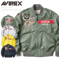 AVIREX アビレックス 6192132 L-2フライトジャケット USSOCOM【Sx】 ミリタリージャケット アヴィレックス