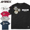 AVIREX アビレックス 6193341 S/S クルーネックTシャツ USSOCOM WAPPEN【キャンペーン対象外】 半袖 ミリタリー ワッペン