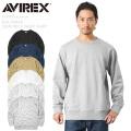 AVIREX アビレックス 6193592 デイリーウエア クルーネック スウェットシャツ【キャンペーン対象外】