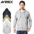 AVIREX アビレックス 6193594 デイリーウエア ジップアップ スウェットパーカー【キャンペーン対象外】