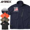 AVIREX アビレックス 6195096 FROGMAN(フロッグマン)ストレッチ ジップシャツ【キャンペーン対象外】 ミリタリー