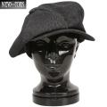☆20%OFFセール☆New York Hat ニューヨークハット 6210 シャンブレー ビッグアップル Black
