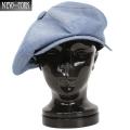 ☆20%OFFセール☆New York Hat ニューヨークハット 6210 シャンブレー ビッグアップル Blue