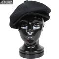 ☆まとめ割☆New York Hat ニューヨークハット 6218 Canvas Newsboy キャスケット ブラック