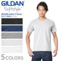 GILDAN ギルダン 63V00 4.5oz アダルト Vネック 半袖Tシャツ Japan Fit【Sx】