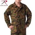 ☆20%OFFセール☆ROTHCO ロスコ キッズ DIGITAL CAMO BDU シャツジャケット 66215 Woodland Digital Camo