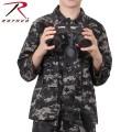 ☆20%OFFセール☆ROTHCO ロスコ キッズ DIGITAL CAMO BDU シャツジャケット 66425 Subdued Urban Digital Camo