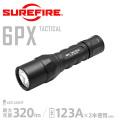 【キャンペーン対象外】SUREFIRE シュアファイア  6PX TACTICAL Single-Output LEDフラッシュライト (6PX-C-BK)