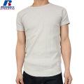 RUSSELL ラッセル CLASSIC STYLE SOLID ワイドクルーネック H/S Tシャツ グレー