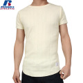 RUSSELL ラッセル CLASSIC STYLE SOLID ワイドクルーネック H/S Tシャツ ナチュラル