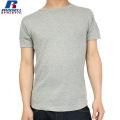 RUSSELL ラッセル CLASSIC ワッフル SOLID ワイドクルーネック H/S Tシャツ グレー