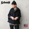 【即日出荷対応】Schott ショット 7515 レディース フレアスリーブ ピーコート MADE IN USA【キャンペーン対象外】