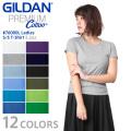 【メーカー取次】GILDAN ギルダン 76000L 5.3oz レディース クルーネック 半袖Tシャツ Japan Fit【Sx】