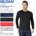 GILDAN ギルダン 76400 Premium Cotton 5.3oz L/S アダルト Tシャツ Japan Fit【Sx】