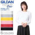 【メーカー取次】GILDAN ギルダン 76400L 5.3oz レディース クルーネック 長袖Tシャツ Japan Fit【Sx】
