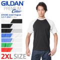 【メーカー取次】【2XLサイズ】GILDAN ギルダン 76500 5.3oz アダルト ラグラン 半袖Tシャツ Japan Fit【キャンペーン対象外】