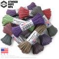 ☆20%OFF割引中☆【即日出荷対応】ATWOOD ROPE MFG. アトウッド・ロープ 7Strand 550Lbs パラコード 100フィート COLOR CHANGING PATTERNS MADE IN USA