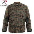 ROTHCO ロスコ DIGITAL CAMO BDU シャツジャケット 8690 Woodland Digital Camo