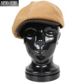 ☆今だけ20%OFF☆New York Hat ニューヨークハット 9008 Leather Visor Gatsby キャスケット キャメル