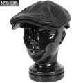 ★今ならカートで18%OFF割引★【即日出荷対応】New York Hat ニューヨークハット 9250 Lamba 1900 レザーハンチング ブラック
