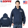 【即日出荷対応】SOFFE ソフィー 9288NX OFFICIAL U.S.NAVY UNIFORM フィジカルトレーニングスウェットパーカー MADE IN USA ミリタリーファッション