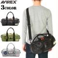 AVIREX アビレックス VERTER ミリタリー 2WAY ボストンバッグ 3色