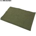 実物 新品 米軍ウール毛布