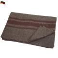 実物 新品 ブルガリア軍ウールブランケットライン入り #2▲
