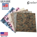 HAV-A-HANK ハバハンク MADE IN U.S.A. カモフラージュ バンダナ 6色