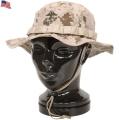 実物 新品 米海兵隊 MARPAT DESERT ブーニーハット