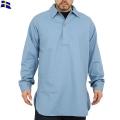 実物 新品 スウェーデン軍Civil Defenseプルオーバーシャツ