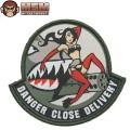 MIL-SPEC MONKEY ミルスペックモンキー パッチ(ワッペン) Danger Close SWAT